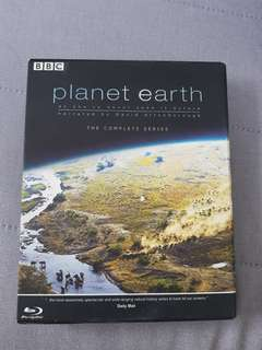 Planet Earth the complete series bluray | 4 discs