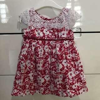 Contempo Flower Dress