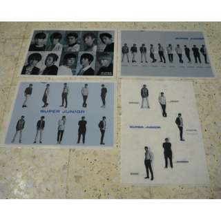 [CRAZY DEAL 90% OFF FROM ORIGINAL PRICE][READY STOCK]SUPER JUNIOR JAPAN OFFICIAL A4 SIZE FILE 4PC !ORIGINAL FR JAPAN (PRICE NOT INCLUDE POSTAGE)PLEASE READ DETAILS FOR MORE INFO; POSLAJU:PENINSULAR AREA :RM10/SABAH SARAWAK AREA: RM15