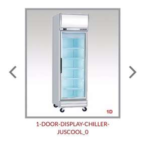 🚚 Display Chiller Juscool Singmah Steel Commercial Refrigeration