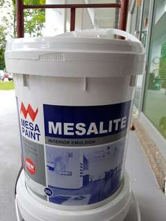 Mesalite 20L Lily White interior Emulsion Paint