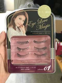 New! 3 pasang false eyelashes