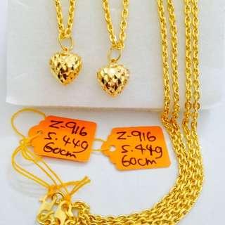 Woman Bracelet Gold 916