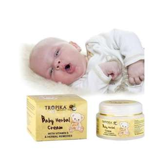 TROPIKA BABY HERBAL CREAM 50G