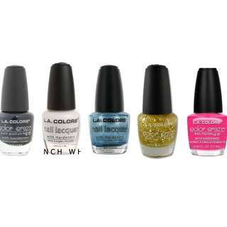L.A colors - nail polishes set 3 (6 for $10)