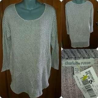 Charlotte Russe Knit Sweater Dress