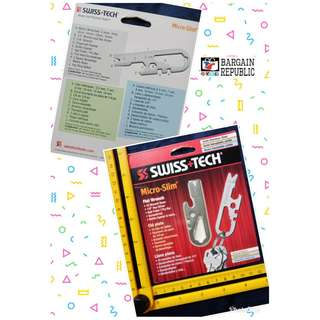 Swiss+Tech ST67198M2 Micro-Slim Flat Wrench M2