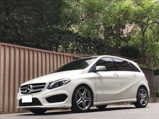 FB搜尋【阿彥嚴選認證車-Yencar】2015 B180 AMG 白、中古車、二手車、全額貸、車換車