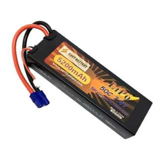 🚚 Vant Battery 5200mAh 7.4V 50C Hardcase Lipo w EC3 - In Stock!
