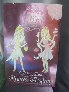 The Tiara Club. Sophia & Emily at the Princess Academy