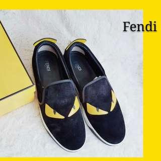 Fendi Bag Bugs Slip On Men Sneakers