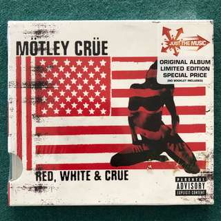 MOTLEY CRUE (Red, White & Blue) CD