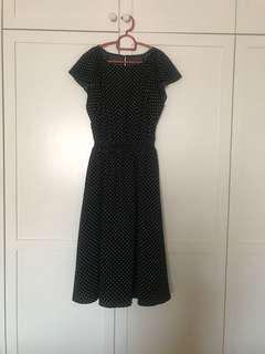 GU Polka Dot Dress