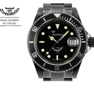 Squale 1545 DLC 40mm 200m at good discount%
