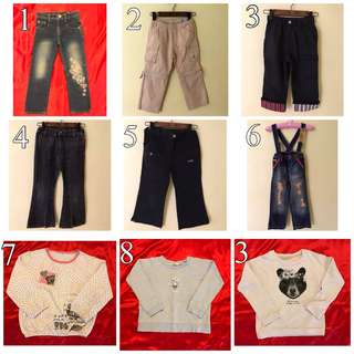 Pants & sweater 1-4yr