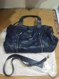 韓國羊皮多格兩用旅行大袋