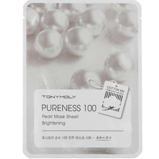 Tony Moly Pureness 100 PEARL Mask Sheet