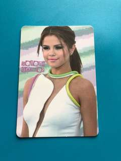 (包郵) Selena Gomez Yes卡 / Yes Card