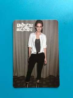(包郵) Kristen Stewart Yes卡 / Yes Card