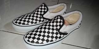 Vans Slipon Checkerboard black & white