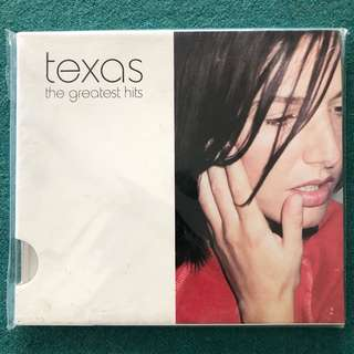 TEXAS (The Greatest Hits) CD