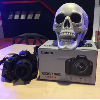 Canon EOS1200D + Printe CP910 + Bag + SD card