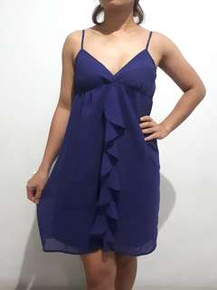 GAP - Backless Sleeveless Purple Dress