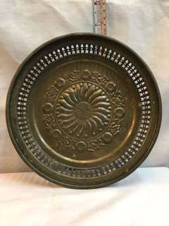 Antique Sunflower Copper Plate