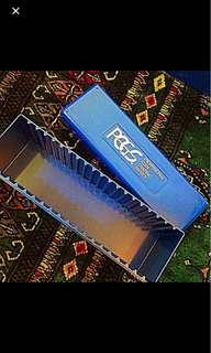 "PCGS Blue Storage Boxes, Rugged & Safe Large Storage for Slabs & 2.5"" Flips"