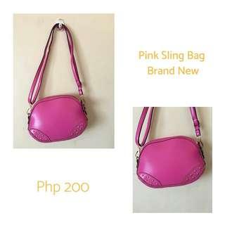 NEW Pink Sling Bag
