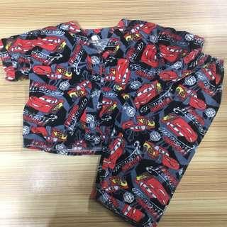 Disney Cars Pajama Terno