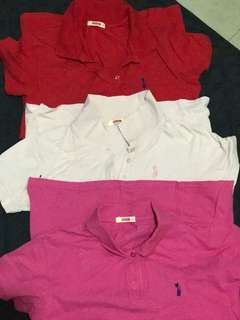 Polo Shirts 3 for 500