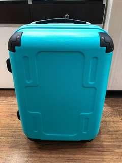 日本皇冠CROWN LOJEL 19.5吋 Tiffany藍 行李箱