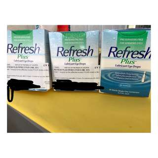 Refresh eyedrops