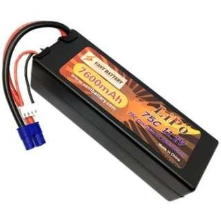 🚚 Vant Battery 7600mAh 11.1V 75C Hardcase Lipo w EC3 - In Stock!