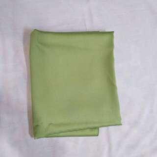 pashmina velvet hijau