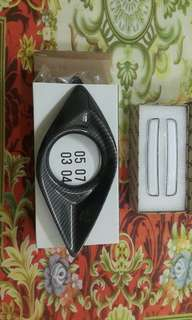 Ready to cod  REFLECTOR ALBINO COVER FOG LAMP CARBON  www.wasap.my/+60132928990