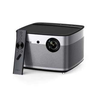 極米無屏電視H2 高清智能小型家用投影機1080P無線WIFI家庭投影儀