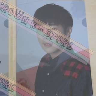 [LAST 1][CRAZY DEAL 90% OFF FROM ORIGINAL PRICE][READY STOCK]INFINITE SUNGGYU KOREA OFFICIAL A4 SIZE FILE 1PC!ORIGINAL FR KOREA (PRICE NOT INCLUDE POSTAGE)PLEASE READ DETAILS FOR MORE INFO; POSLAJU:PENINSULAR AREA :RM10/SABAH SARAWAK AREA: RM15