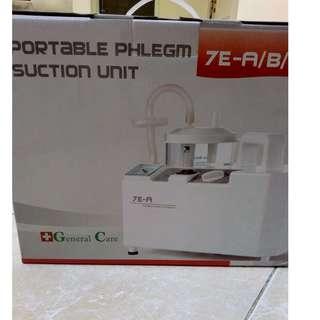 Portable phglem suction
