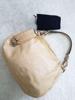 Authentic chanel handbag yellow