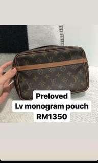 LV Monogram Pouch