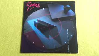 SURVIVOR . when seconds count. Vinyl record