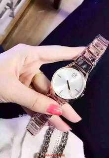 精品女鏈錶⌚️玫瑰金 watch