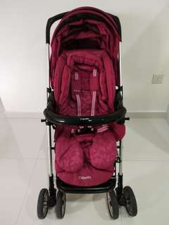 Capella stroller (wine colour)
