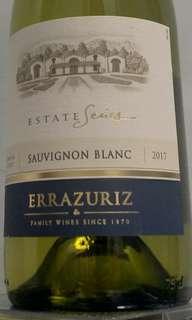 White wine (Errazuriz Sauvignon Blanc 2017) 白餐酒