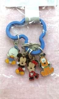 正品迪士尼米奇家族匙扣