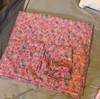 Pre loved Crib Comforter Set