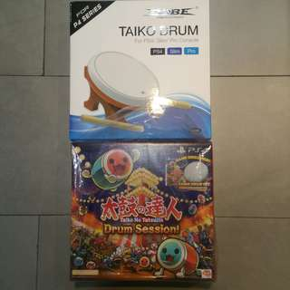 Taiko No Tatsujin drum kit with 1 more drum