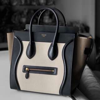 Authentic Celine Mini Luggage